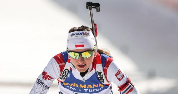 Biathlonistka Monika Hojnisz-Staręga zdobyła w Dusznikach-Zdroju złoty medal mistrzostw Europy w biegu indywidualnym na 15 km. Drugie miejsce zajęła Ukrainka Anastazja Merkuszyna, a trzecie - Rosjanka Łarysa Kuklina.