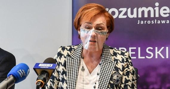Szefowa Porozumienia w okręgu lubelskim i kanclerz Wyższej Szkoły Ekonomii i Innowacji zaszczepiła się przeciwko Covid-19. Teresa Bogacka w rozmowie z Onetem zapewniła, że wszystko odbyło się zgodnie z prawem.