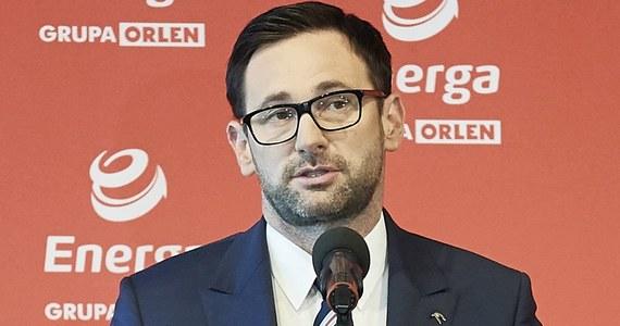 """Prezes PKN Orlen Daniel Obajtek został Człowiekiem Roku 2020 magazynu """"Wprost"""". Obajtek stoi na czele koncernu paliwowego od 2018 roku."""