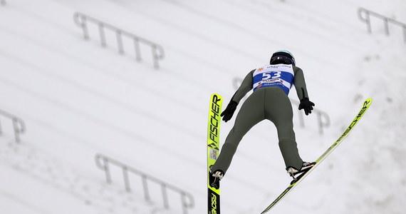 Klemens Murańka skoczył na odległość 153 metrów i pobił rekord skoczni w Willingen podczas kwalifikacji do jutrzejszego konkursu Pucharu Świata. W komplecie przeszła je siódemka Polaków. Murańka został sklasyfikowany na piątym miejscu, a wygrał Andrzej Stękała, który skoczył na odległość 152 metrów.