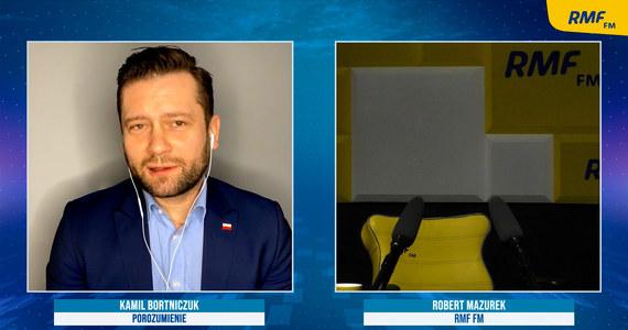 """Mazurek wyszedł ze studia w trakcie rozmowy z Bortniczukiem. """"Pan poseł sobie poopowiada"""" - RMF 24"""