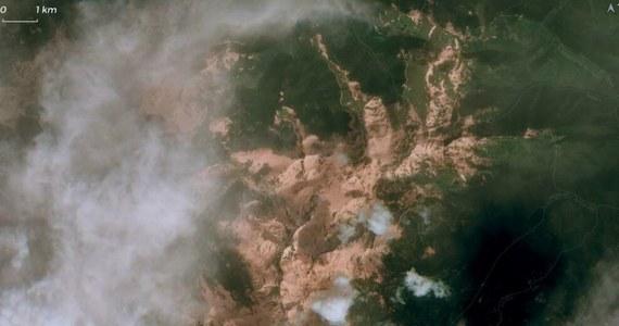 Wyjątkowe zjawisko. Pył pustynny z Sahary nad Pirenejami widoczny z kosmosu