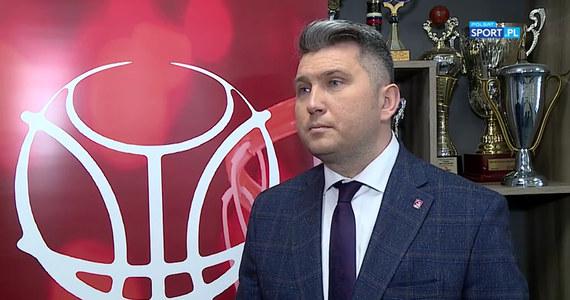 Prezes PZKosz. Sponsor pozwala myśleć o kolejnych sukcesach (POLSAT SPORT). Wideo