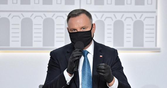 Prezydent Andrzej Duda skieruje w czwartek do Sejmu projekt nowelizacji ustawy o Sądzie Najwyższym przewidujący m.in. wydłużenie terminu na wnoszenie skargi nadzwyczajnej z trzech do pięciu lat - poinformowała PAP w środę prezydencka minister Małgorzata Paprocka.