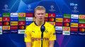 Liga Mistrzów. Erling Haaland: Mbappe mnie zmotywował (POLSAT SPORT). Wideo