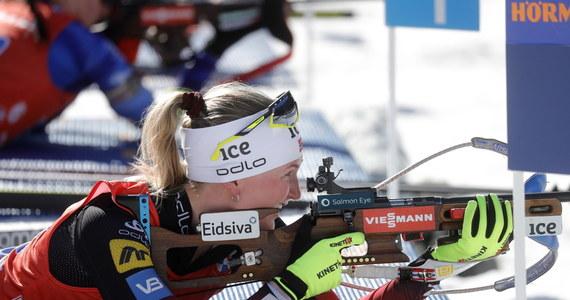 Reprezentantki Norwegii zwyciężyły w biathlonowej sztafecie 4x6 km w mistrzostwach świata w słoweńskiej Pokljuce. Polki zajęły szóste miejsce.