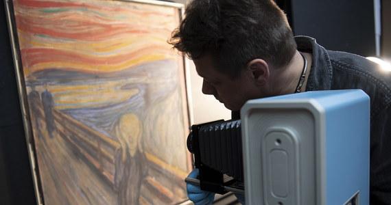"""Norwescy naukowcy wyjaśnili tajemnicę napisu na słynnym obrazie Edvarda Muncha """"Krzyk"""". Okazuje się, że autorem zdania: """"To mógł namalować tylko wariat"""" jest sam malarz."""