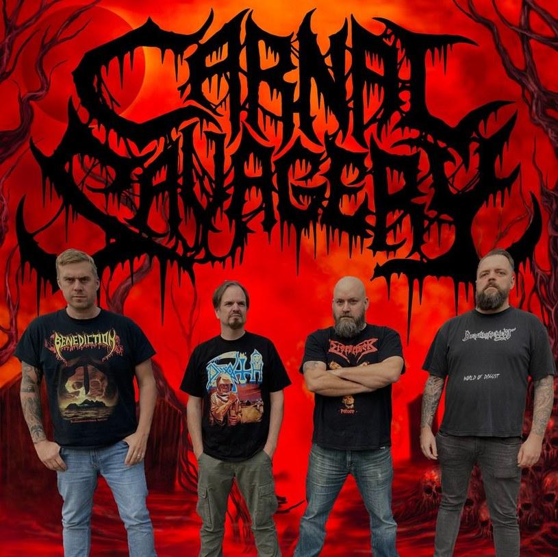 Deathmetalowa grupa Carnal Savagery ze Szwecji przygotowała nowy album.