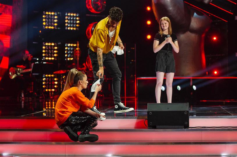 """Już w sobotę (27 lutego) rusza czwarta edycja muzycznego talent show z udziałem dzieciaków - """"The Voice Kids"""". 14-letnia uczestniczka doprowadziła Cleo do łez."""