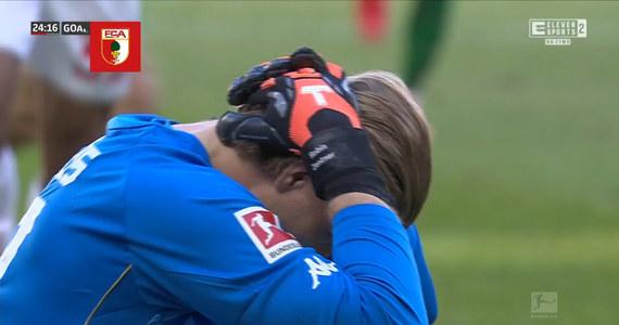 Bundesliga. FSV Mainz 05 - FC Augsburg. Koszmarny błąd bramarza (ELEVEN SPORTS). Wideo