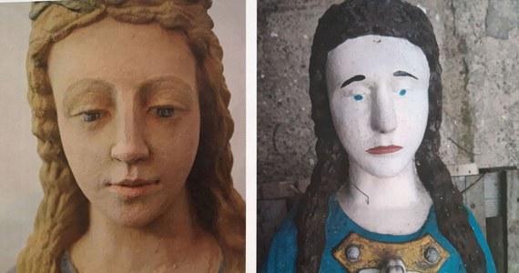 Zamieszanie z XIX-wieczną kamienną figurą Matki Bożej z przydrożnej kapliczki w Miejscu koło Wadowic. Odrestaurowali ją konserwatorzy, ale efekt ich prac nie zadowolił właściciela. Nie zgadza się na jej ponowne umieszczenie figury w kaplicy - podał Małopolski Wojewódzki Konserwator Zabytków.