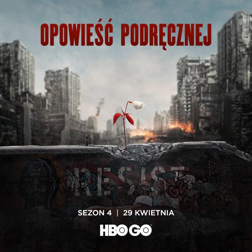 """Serial """"Opowieść podręcznej"""" wraca do HBO GO z najnowszym, czwartym sezonem. W Polsce premiera produkcji odbędzie się dzień po premierze amerykańskiej, czyli 29 kwietnia."""