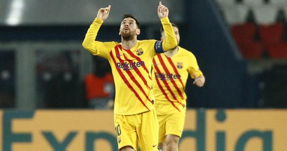 Mimo pięknej bramki Argentyńczyka Lionela Messiego  Barcelona nie zdołała odrobić strat z pierwszego spotkania, przegranego z Paris Saint-Germain 1:4, i po remisie 1:1 w rewanżu odpadła w 1/8 finału piłkarskiej Ligi Mistrzów. Awans wywalczył za to Liverpool.