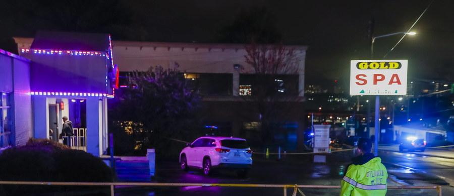Osiem osób zginęło w strzelaninach w trzech salonach masażu w Atlancie w USA i na przedmieściach tego miasta - poinformowały lokalne władze. Wśród ofiar są głównie azjatyckie kobiety.