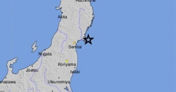 Trzęsienie ziemi o magnitudzie 7,2 nawiedziło japońską prefekturę Miyagi. Wydano ostrzeżenie o tsunami.