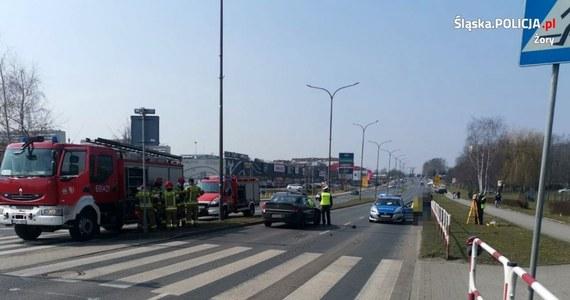 Do groźnego wypadku doszło w Żorach na Śląsku. Dwoje 17-latków zostało tam potrąconych na jednym z przejść dla pieszych.