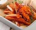 Frytki z marchewki jako doskonała przekąska