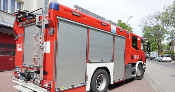 W Szpitalu Powiatowym we Włoszczowie rozszczelniła się instalacja tlenowa. Konieczna okazała się interwencja strażaków.