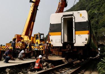 Katastrofa kolejowa na Tajwanie. Jest pierwszy nakaz aresztowania