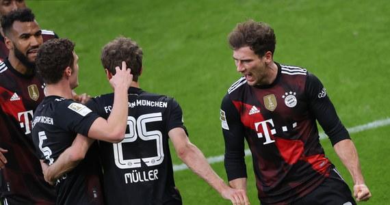 Bayern Monachium poradził sobie bez kontuzjowanego Roberta Lewandowskiego i pokonał na wyjeździe RB Lipsk 1:0 w meczu na szczycie 27. kolejki niemieckiej ekstraklasy piłkarskiej. Gola dla obrońców tytułu strzelił w 38. minucie Leon Goretzka.
