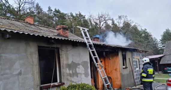 Dwie osoby zginęły w wybuchu gazu w domu w miejscowości Okoń koło Wieruszowa w Łódzkiem. Dwie kolejne są mocno poparzone.