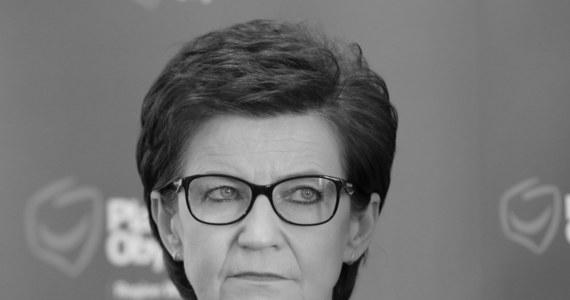 """W wieku 63 lat zmarła Anna Wasilewska - posłanka Platformy Obywatelskiej. """"Wielka strata...Odeszła od nas Ania Wasilewska - samorządowiec, posłanka, niezwykle pracowita i skromna osoba. Aniu, to był zaszczyt z Tobą pracować...Do zobaczenia..."""" - napisał na Twitterze lider PO Borys Budka."""
