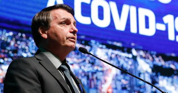 """Prezydent Brazylii Jair Bolsonaro odnosząc się do ponad czterech tysięcy śmiertelnych ofiar Covidu-19 podczas ostatniej doby powiedział w środę, że """"wszyscy jesteśmy odpowiedzialni za to, co dzieje się w Brazylii""""."""