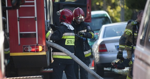 Pożar wybuchł w dawnym schronisku im. Brata Alberta w Słupsku na Pomorzu. Według strażaków, w ogniu nikt nie ucierpiał, bo budynek był opuszczony.