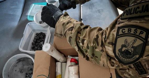 10 samodziałowych urządzeń wybuchowych oraz 75 kg substancji chemicznych mogących posłużyć do wytwarzania materiałów wybuchowych znaleźli funkcjonariusze w akcji przeprowadzonej na terenie 8 województw.