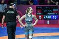 ME w zapasach. Katarzyna Mądrowska nie przystąpiła do półfinału wagi 62 kg