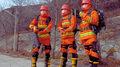 Chińscy strażacy wyposażeni w zaawansowane egzoszkielety