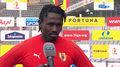 I liga. Emile Thiakane (Korona Kielce): Musimy lepiej reagować po straconych golach (POLSAT SPORT). Wideo