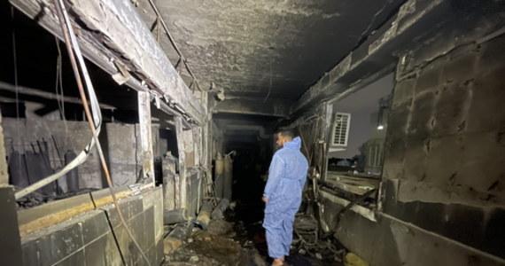 Co najmniej 82 osoby poniosły śmierć, a 110 zostało rannych w pożarze, który wybuch w nocy z soboty na niedzielę w szpitalu zakaźnym w Bagdadzie, na oddziale intensywnej terapii leczącym pacjentów z Covid-19 - poinformowało irackie Ministerstwo Spraw Wewenętrznych.