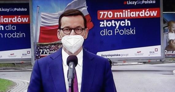 Na posiedzeniu Rady Ministrów przyjęliśmy projekt ustawy o ratyfikacji zasobów własnych UE, teraz przekazujemy ten akt do parlamentu; polska racja stanu to wykorzystanie maksymalnej puli środków, jak najszybciej dla dobra polskiej gospodarki - podkreślił we wtorek premier Mateusz Morawiecki. Ratyfikacja przez państwa członkowskie decyzji o zwiększeniu zasobów własnych UE jest konieczna do uruchomienia Funduszu Odbudowy, w ramach którego Polska ma uzyskać ponad 58 mld euro. Pieniądze te mają być rozdysponowane w ramach Krajowego Planu Odbudowy.
