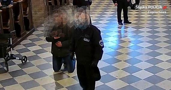 Policja szuka mężczyzny, który pobił strażnika klasztoru na Jasnej Górze. Poszło o brak maski na twarzy.