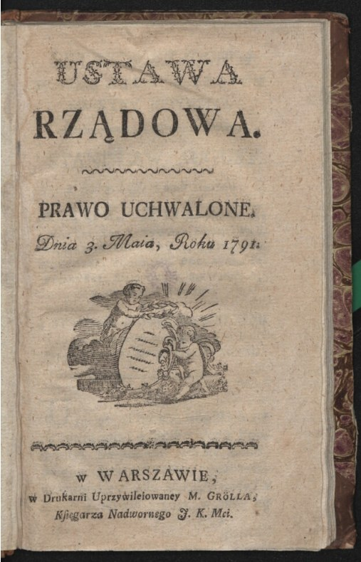 /Współautor: Michał Gröll. Źródło: Biblioteka Narodowa / polona.pl /