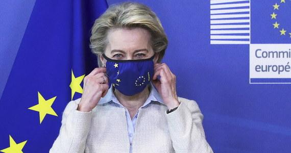 """""""Kampania szczepień przeciwko Covid-19 w UE to sukces""""; obecnie co sekundę szczepionych jest 30 Europejczyków, trzy miliony osób dziennie - powiedziała przewodnicząca Komisji Europejskiej Ursula von der Leyen, otwierając zdalną konferencję Stan Unii w czwartek."""
