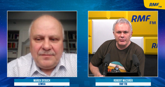 """""""Usiedliśmy z PiS do stołu, który nazywa się Polską - mówi gość Porannej rozmowy w RMF FM Marek Dyduch, pytany o rozmowy z Prawem i Sprawiedliwością. """"To poważna sprawa. Wszyscy spłycają ten problem. Zjednoczona opozycja nie istnieje. Była dyktatura PO na opozycji i nagle ta dyktatura została złamana"""" - zaznacza gość Roberta Mazurka. """"Stąd ta wściekłość PO"""" - tłumaczy."""