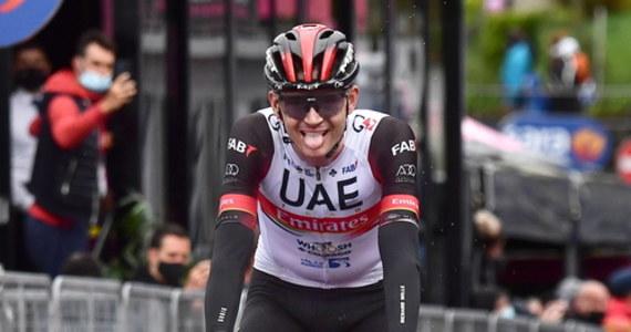 Amerykanin Joe Dombrowski z UAE Team Emirates wygrał w miejscowości Sestola czwarty etap wyścigu kolarskiego Giro d'Italia. Różową koszulkę lidera zdobył drugi na mecie Włoch Alessandro De Marchi (Israel Start-Up Nation).