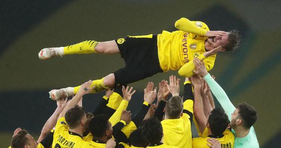 RB Lipsk - Borussia Dortmund 1-4 w finale Pucharu Niemiec. Łukasz Piszczek triumfuje!