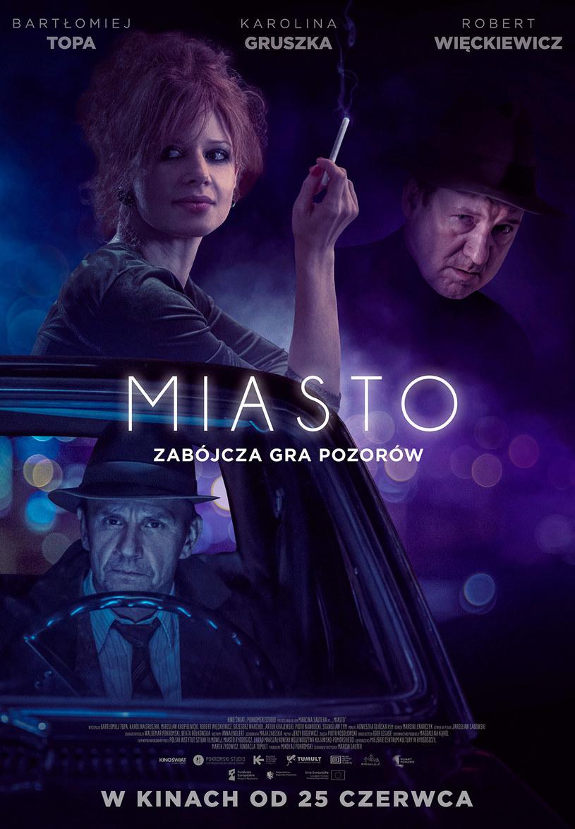 """Groźni gangsterzy, piękne kobiety i atmosfera rodem z klasyki światowego kryminału. Wszystko to w filmie, jakiego w Polsce jeszcze nie było. """"Miasto"""" to długo wyczekiwany debiut fabularny Marcina Sautera."""