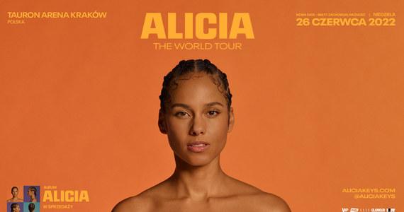 Światowa ikona muzyki, piętnastokrotna zdobywczyni nagrody GRAMMY - Alicia Keys  - zagra w TAURON Arenie Kraków 26 czerwca 2022 roku. Koncert pierwotnie był planowany dwa dni wcześniej. Bilety zachowują ważność.