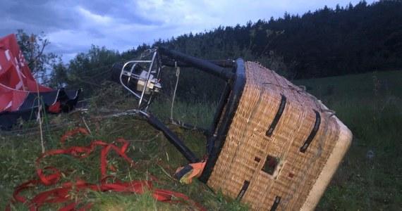 W obwodzie chmielnickim na zachodzie Ukrainy spadł balon z pasażerami w koszu. W wypadku jedna osoba zginęła, a pięć zostało rannych.