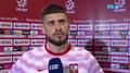 Polska - Rosja. Mateusz Klich: Staraliśmy się podchodzić wysoko, kiedy była taka szansa. Wideo (POLSAT SPORT)