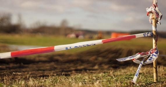Niewielki helikopter spadł na płytę lotniska w miejscowości Ułęż w lubelskiem.