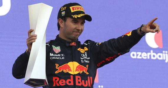 Meksykanin Sergio Perez z teamu Red Bull wygrał na ulicznym torze w Baku wyścig Formuły 1 o Grand Prix Azerbejdżanu. Drugie miejsce zajął Niemiec Sebastian Vettel z Aston Martina, a trzecie Francuz Pierre Gasly z AlphaTauri.