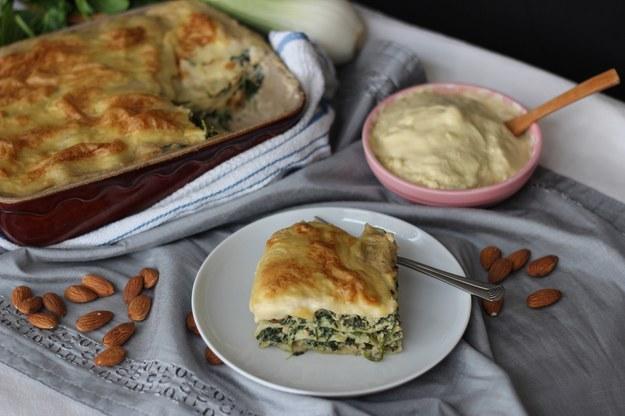 Smacznie i zdrowo! Lasagne wegetariańska
