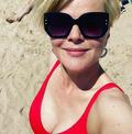 Monika Richardson pochwaliła się zdjęciami nowego partnera na plaży