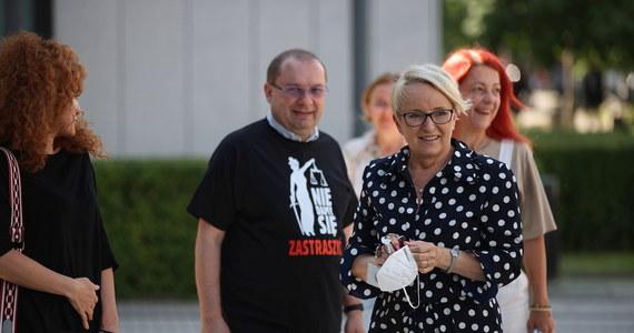 Wracam do pracy, która jest celem mojego życia, moją misją i pasją. I to jest w tym momencie dla mnie najważniejsze - powiedziała sędzia Beata Morawiec. W ten sposób skomentowała decyzję Izby Dyscyplinarnej SN, która prawomocnie odmówiła uchylenia jej immunitetu.