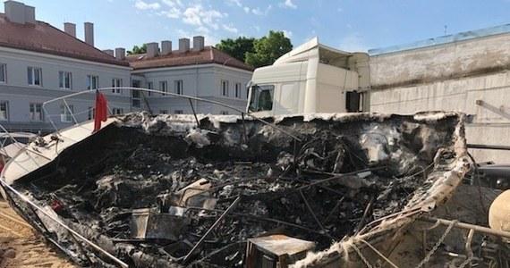 Trzy osoby zostały zatrzymane w związku z pożarem motorówki na jeziorze Śniardwy. Jeden z poparzonych mężczyzn jest w ciężkim stanie.